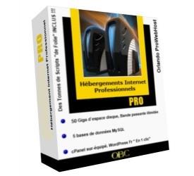 HÉBERGEMENT WEB PRO : TRIMESTRIEL