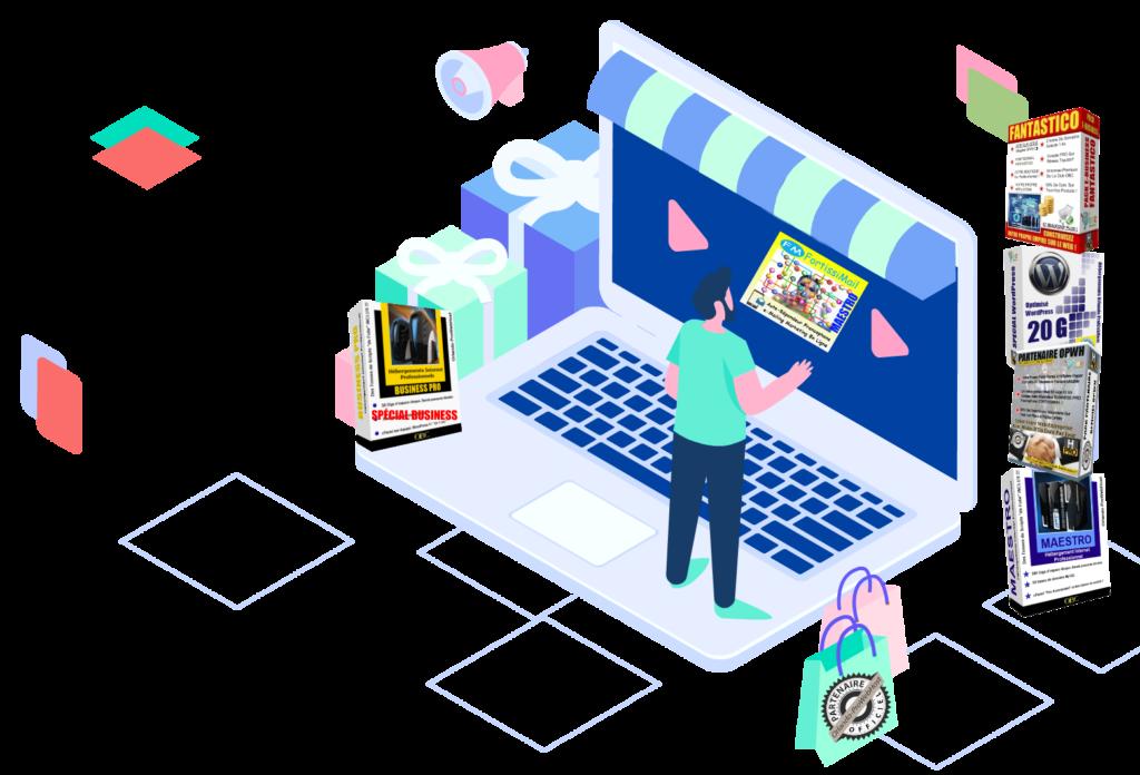Votre Propre Boutique Partenaire Hébergements Web OPWH