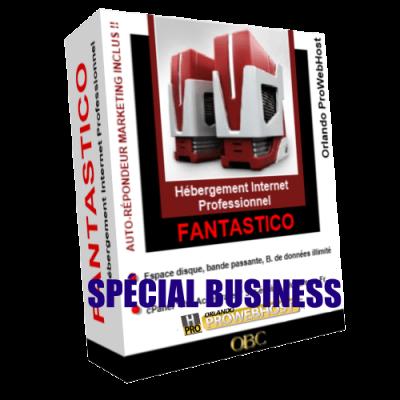 Hébergement Web Business Fantastico
